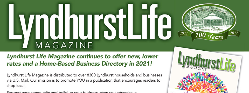 Lyndhurst Life Magazine 2021 Publication Date and Rate Card.