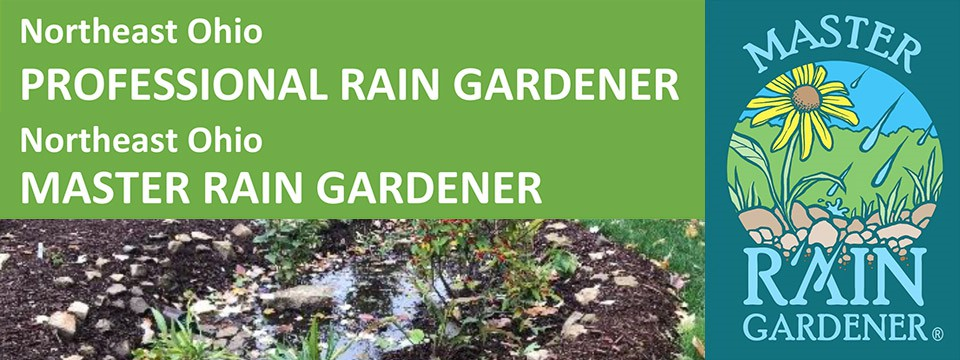 Northeast Ohio Professional Rain Gardener and Master Rain Gardener Courses Available Online and In-Person