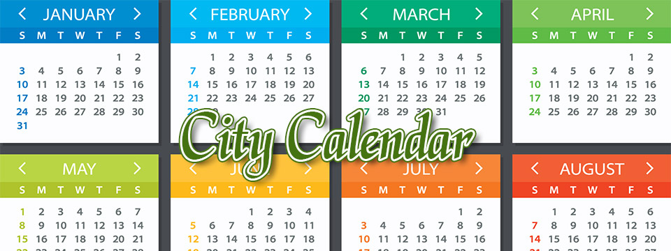 Menu: City Calendar - Visit the Event Calendar section of the City of Lyndhurst, Ohio website.
