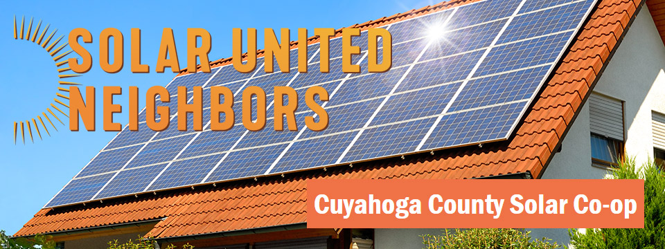Have You Been Considering Solar for Your Home or Business? - There's Still Time to Take Advantage of the 30% Federal Tax Credit - Cuyahoga County Solar Co-Op / Solar United Neighbors (SUN) - Meeting at Granite City Brewery in Legacy Village (6PM - 8PM) - October 22nd 2019 - City of Lyndhurst, Ohio