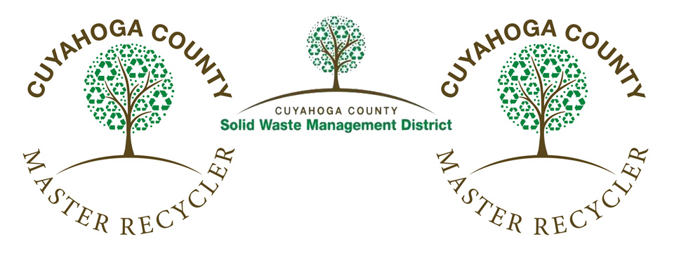 Cuyahoga County Solid Waste District Master Recycler Logo.