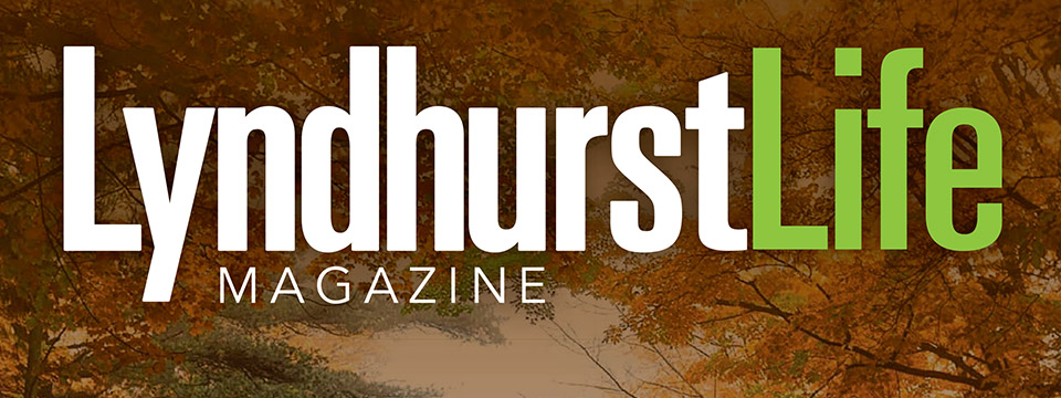 Cover of the August 2020 Issue of Lyndhurst Life Magazine.