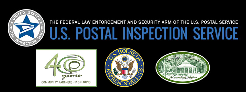 Free Seminar for Seniors from the U.S. Postal Inspection Service - The Federal Law Enforcement And Security Arm of the U.S. Postal Service - Lyndhurst Community Center - July 31st 2018 - City of Lyndhurst, Ohio