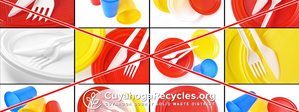 Plastic Cups and Utensils Are NOT Recyclable Curbside