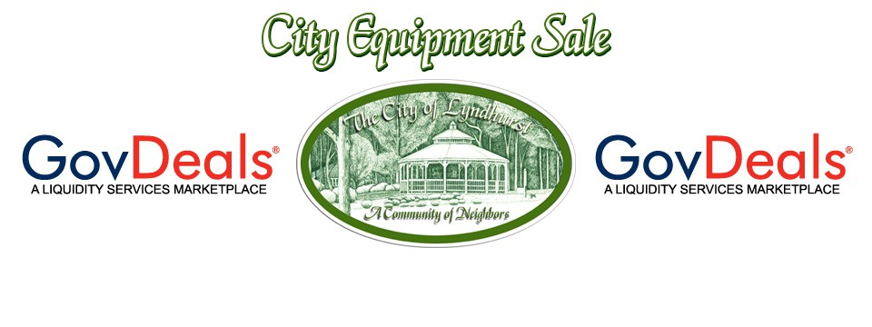 City Equipment Sale Via GovDeals.com Begins