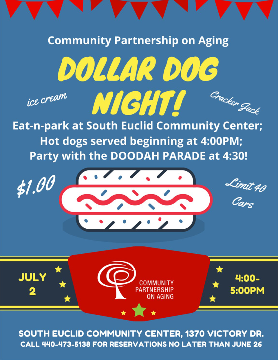 CPA Dollar Dog Night flier.