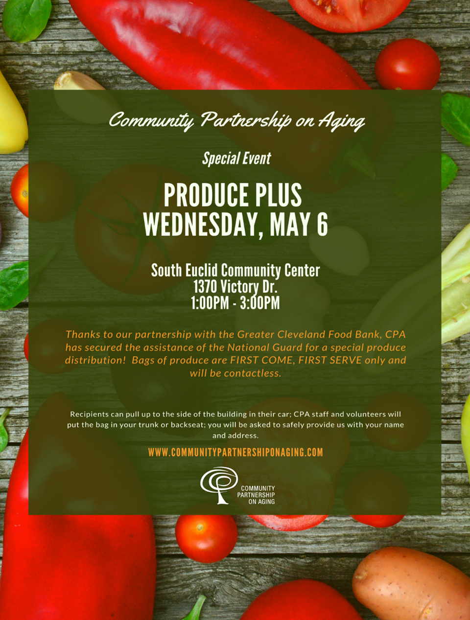 CPA Produce Plus flier.