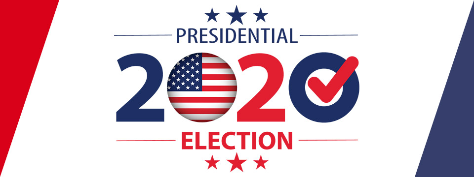 2020 Presidential Election banner.
