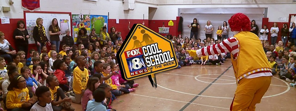 Sunview Elementary in Lyndhurst, Ohio Named 'FOX 8 Cool School' (Video)