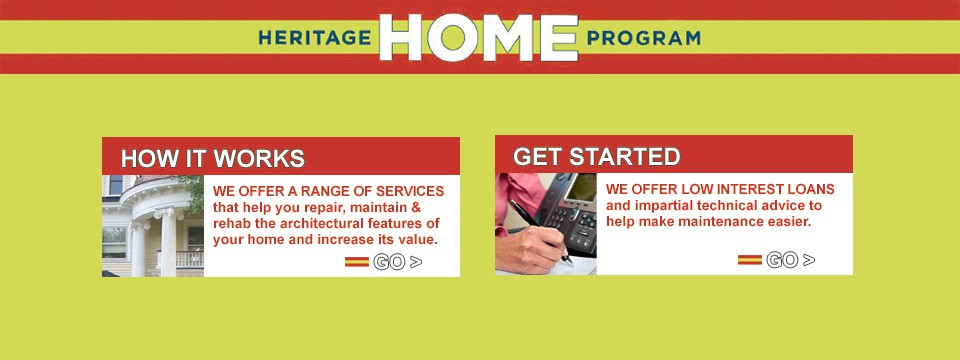 Heritage Home Program