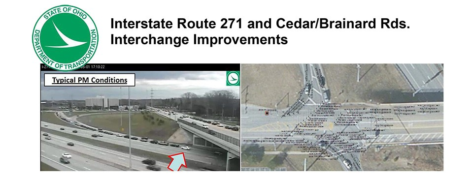 Project Description for Interstate Route 271 and Cedar / Brainard Roads Interchange Improvements