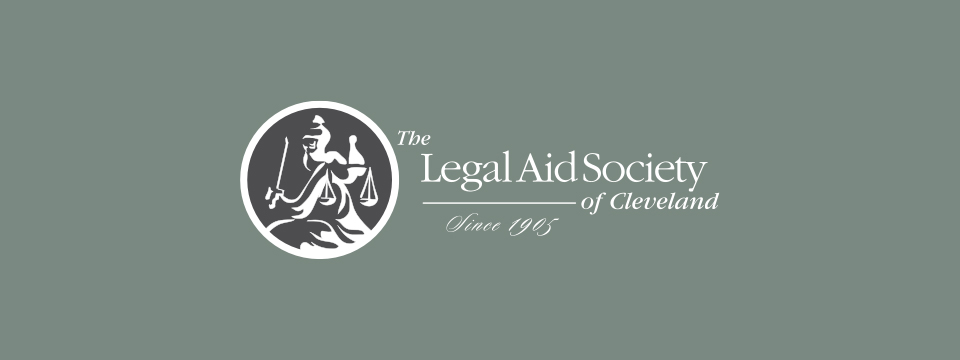 The Legal Aid Society of Cleveland logo.