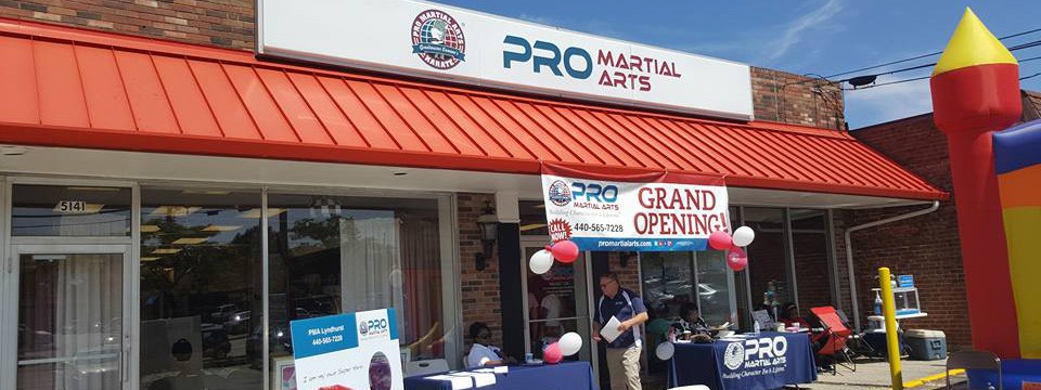 Pro Martial Arts Opens in Lyndhurst, Ohio