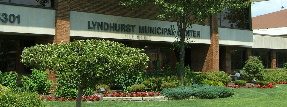 Lyndhurst Municipal Center<br>5301 Mayfield Road<br>Lyndhurst, Ohio 44124<br>(440) 442-5777<br>