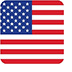 United States of America Flag icon.