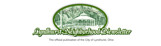 The Lyndhurst Neighborhood Newsletter Logo.