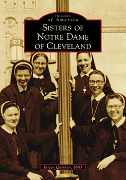 'Sisters of Notre Dame in Cleveland' book cover.
