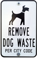 Please Be Courteous: Pick Up After Your Dog